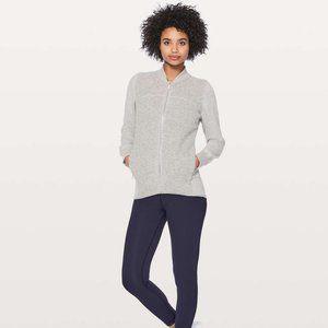 Lululemon Stand Out Sherpa Jacket Heathered wool 4